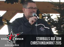 Starbulls Autogrammstunde Christkindlmarkt 2015