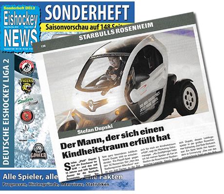 Stadionsprecher in Rosenheim: Eishockey News Sonderausgabe 2016/17